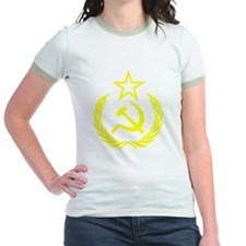 hammer sickle gold T
