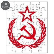 hammer sickle red Puzzle