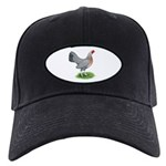 Blue Gold DW Hen Black Cap