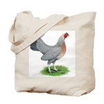 Blue Gold DW Hen Tote Bag