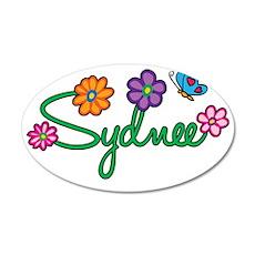 Sydnee 35x21 Oval Wall Decal