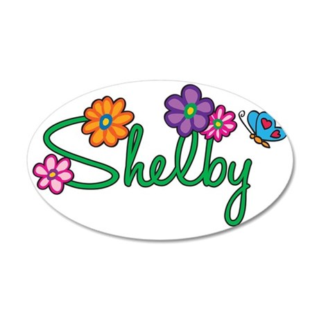 Shelby 35x21 Oval Wall Decal