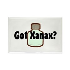 xanax Rectangle Magnet (100 pack)