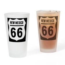 rt66-plain-nm-OV Drinking Glass