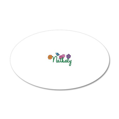 Nathaly 20x12 Oval Wall Decal