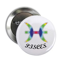 "Pisces 2.25"" Button (100 pack)"