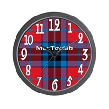 MacTavish Clan Wall Clock