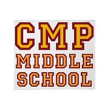allstar CMP Middle School Throw Blanket