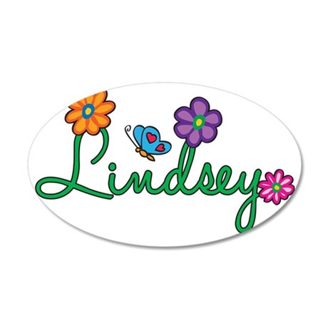 Lindsey 35x21 Oval Wall Decal