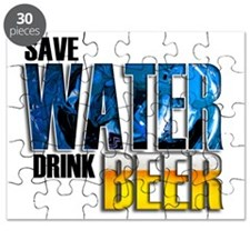save water drink beer mouse wht Puzzle