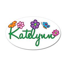 Katelynn 35x21 Oval Wall Decal