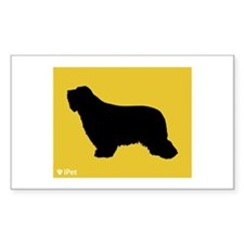 Collie iPet Rectangle Decal