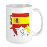 Spain Soccer Coffee Mug