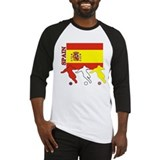 Spain Soccer Baseball Jersey