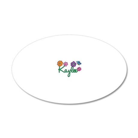 Kaylee 20x12 Oval Wall Decal