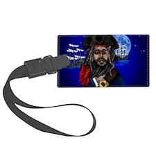 Pirate and Ship-Yardsign Luggage Tag