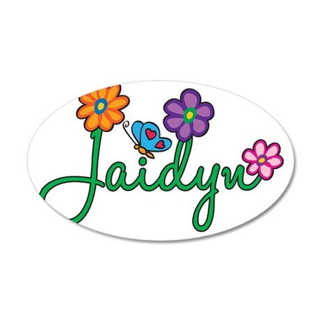 Jaidyn 35x21 Oval Wall Decal