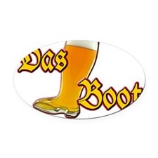 dasboot Oval Car Magnet