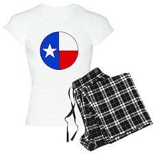 TEXAS FLAG CIRCLE Pajamas