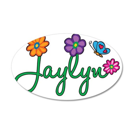Jaylyn 35x21 Oval Wall Decal