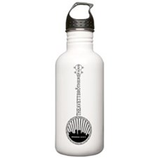 avett_indy_tshirt_date Water Bottle