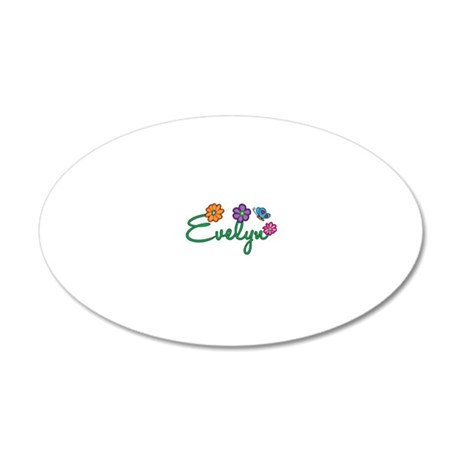Evelyn 20x12 Oval Wall Decal