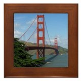 Golden Gate Framed Tile