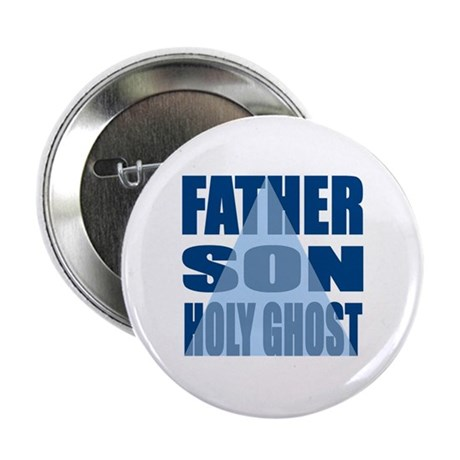Dark Blue Trinity Button
