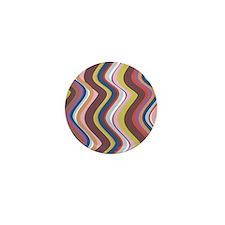 stripe 1 Mini Button