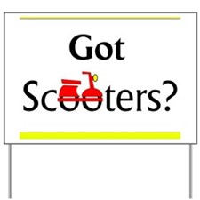 GotScooters Yard Sign