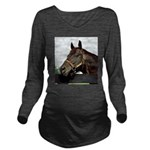 SEATTLE SLEW Long Sleeve Maternity T-Shirt