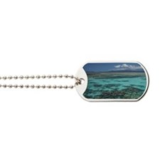 Snorkelers and Reef, Green Island, Great  Dog Tags