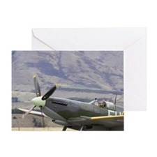 Supermarine Spitfire - British and a Greeting Card