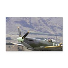 Supermarine Spitfire - Britis Rectangle Car Magnet