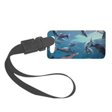 Aquarium inside Atlantis Resort, Luggage Tag