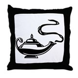 Magic Lantern Throw Pillow