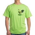 Blue Gold DW Cock Green T-Shirt