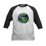 Stop Global Warming Kids Baseball Jersey