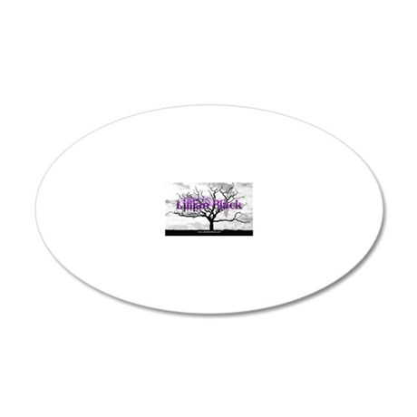 17x11-C 20x12 Oval Wall Decal