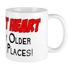 Young At Heart Funny Shirt Mug