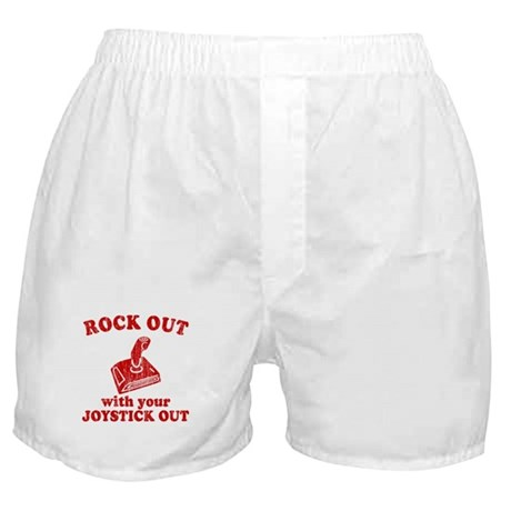Rock Out With Your Joystick O Boxer Shorts