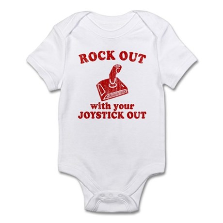 Rock Out With Your Joystick O Infant Bodysuit