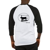 Cute Show steer Baseball Jersey