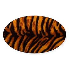 tiger-print Decal