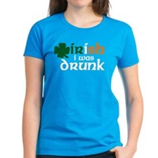 Irish I Was Drunk Tri-color Tee