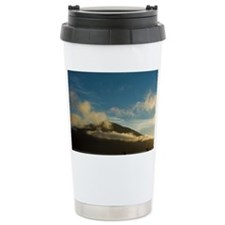 Marlborough Sounds. Sea kayaker Ceramic Travel Mug
