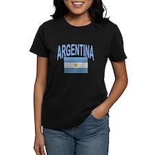 Argentina Oval Flag Tee