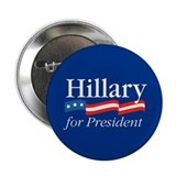 Hillary for President Button