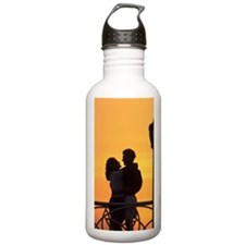 Caribbean, Aruba, Roma Water Bottle