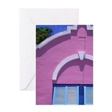 Caribbean, Bermuda. Government house Greeting Card